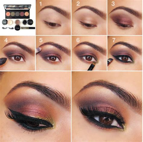 tutorial lipstik simpel 20 easy step by step eyeshadow tutorials for beginners