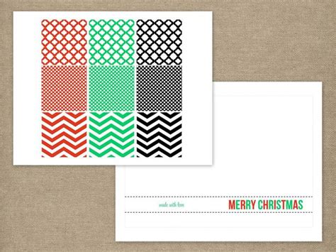ornament card templates handmade modern ornament card easy crafts and