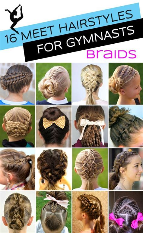hairstyles for a gymnastics competition 25 best ideas about braids for kids on pinterest braids