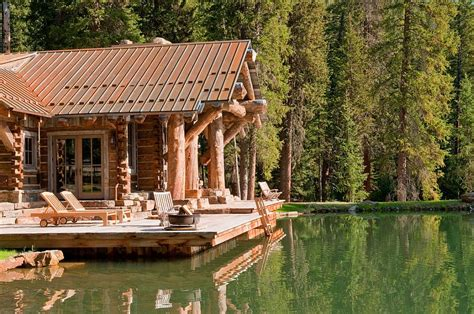 Big Cabins On The Lake by Idyllic Headwaters C Cabin By Dan Joseph Architects