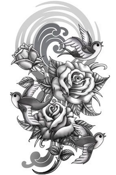 tattoo sleeve background designs arm sleeve tattoos designs