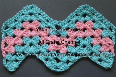 Pattern Crochet Granny | crochet this granny ripple pattern i will show you step