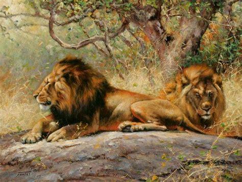 imagenes asombrosas de animales salvajes cuadros modernos animales salvajes pinturas realistas