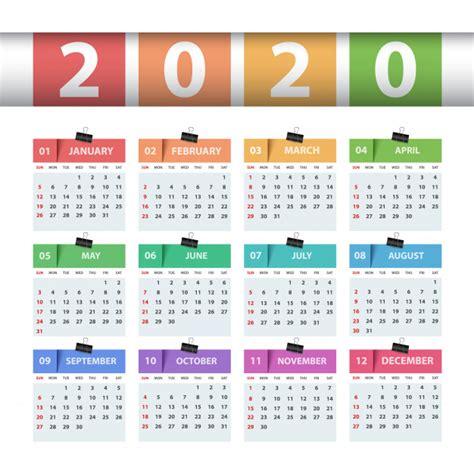 kalender  jaar zakelijke sjabloon premium vector