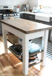 Kitchen Island Diy by Diy Kitchen Island From New Unfinished Furniture To