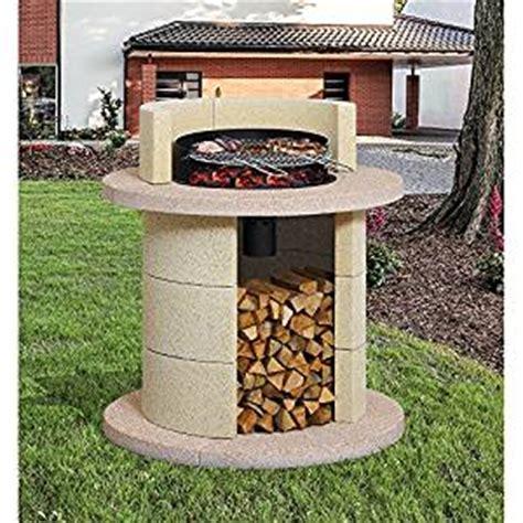 barbecue giardino barbecue da giardino in muratura cemento saturno kg 405