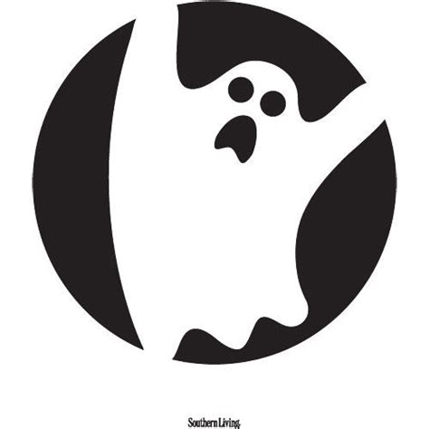 printable pumpkin stencils ghost 14 easy printable pumpkin carving patterns southern living