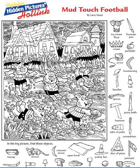highlights hidden pictures printable pdf highlights hidden pictures printables images