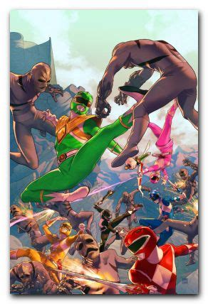 product details mighty morphin power rangers 1 vol 4