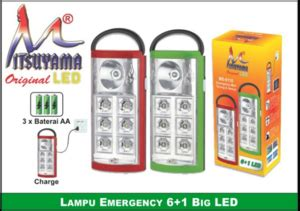 Raket Nyamuk Sunpro lu emergency mini ms 6116