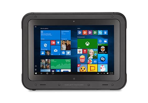 hp rugged tablet windows 10 for your business