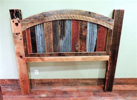 rustic bed headboards barnwood beds rustic headboards other metro by