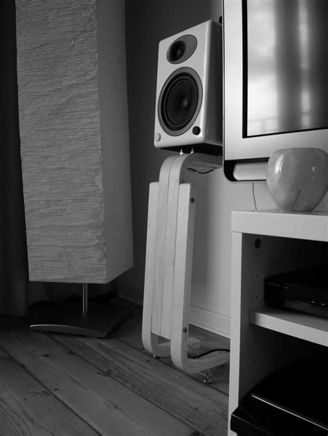 Bluetooth Speakers For Bedroom frosta speaker stands for bookshelf speakers ikea