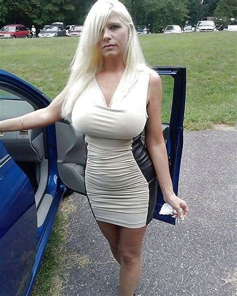 mature galleries from any bimbo hot blonde bimbo near a car more awesome beauties for