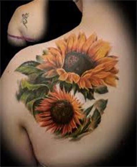 tatuajes para mujer tatuajes de girasoles