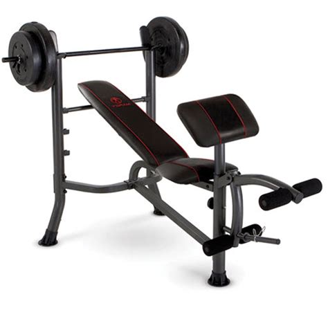 weight bench equipment weight bench press with 80lbs plates home gym workout