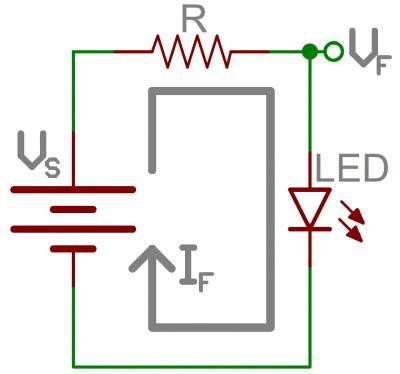 resistor value led 9v resistors learn sparkfun
