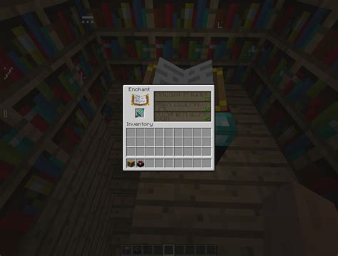 Minecraft Enchantment Table minecraft tutorials how to enchant in minecraft 1 0 0