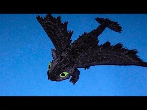3d origami hawk tutorial 3d origami dragon night fury toothless tutorial