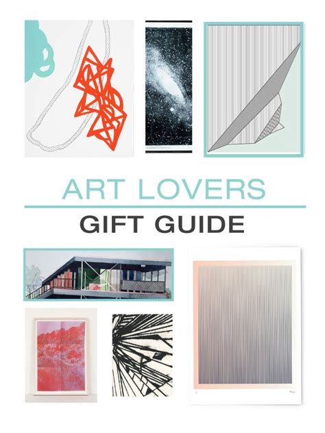 design milk gift guide 2015 gift guide art lovers design milk