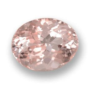 Light Pink Morganite 6 62ct 1 8ct light pink morganite gem from afghanistan