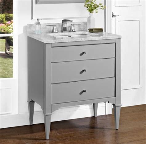 light grey bathroom vanity charlottesville 30 quot vanity light gray fairmont designs