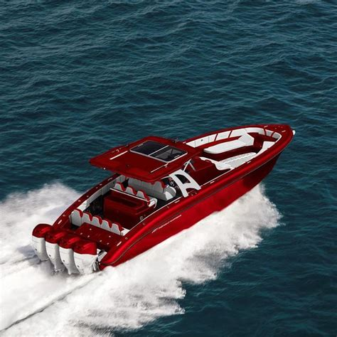 invincible boats instagram candy red midnight express 43 open and quads yachts