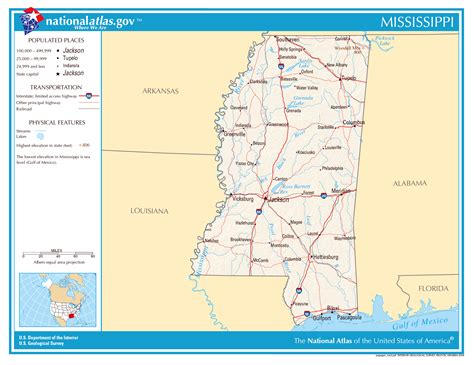 mississippi state map large detailed map of mississippi state mississippi state large detailed map vidiani