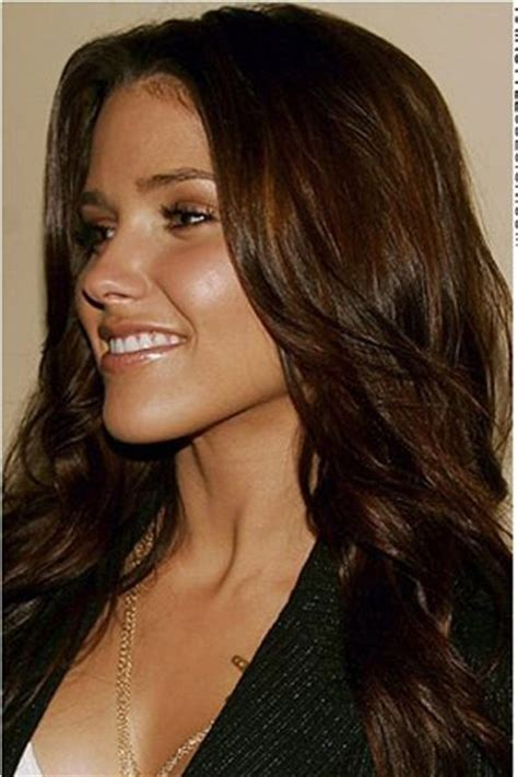 brunette celeb hairstyles 17 best images about brunette color personalities on