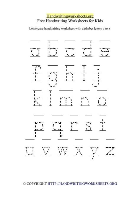 printing alphabet letters worksheet make a printable alphabet letter tracing worksheets 26