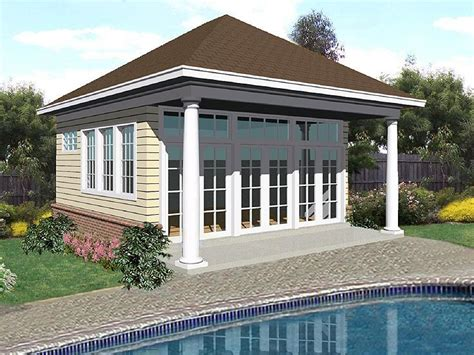 garage pool house plans plan 006p 0009 garage plans and garage blue prints from