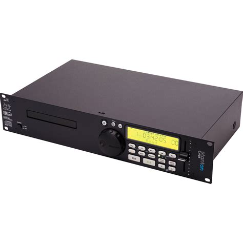 Rack Mount Mp3 Player by Stanton C402 Na Professional 2u Rack Mountable Cd Player C402
