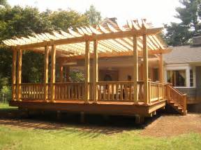 Outdoor Covered Patios Decks Kolins Design And Construction Llc