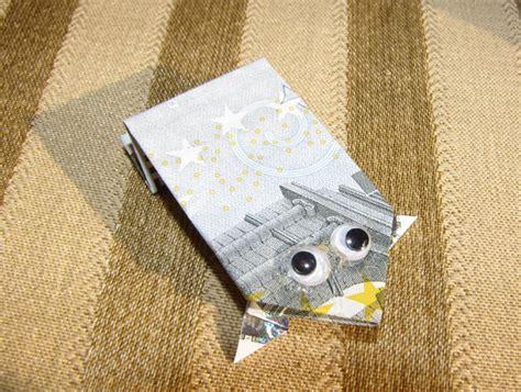 Origami Frog Money - money origami frog