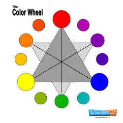 color wheel for color wheel chart for teachers and students