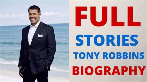 tony robbins the life tony robbins biography aisucces