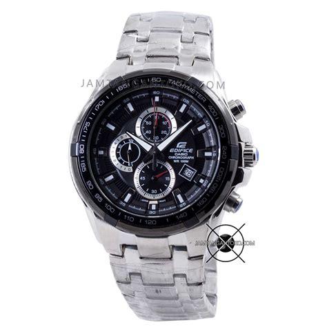 Jam Tangan Pria Edifice Casio Black Silver harga sarap jam tangan edifice ef 539d 1av silver black