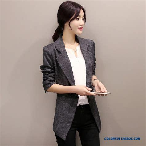 Jaket Wash Koreanstyle cheap small suit jacket korean style slim plus size casual coats sale
