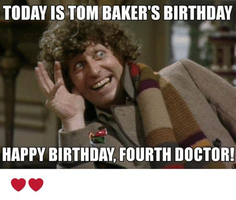 Doctor Who Birthday Meme - 25 best memes about fourth doctor fourth doctor memes