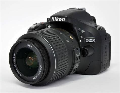 Nikon D5200 Lensa Kit 18 55mm 24 1 Mp nikon d5200 24 1 mp digital dslr kit w af s vr 18 55mm 3 5 5 6g ed lens ebay