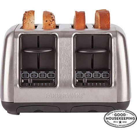 Farberware 4 Slice Toaster farberware 4 slice toaster stainless steel walmart
