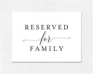 reserved sign template free reserved for family printable card from bliss paper