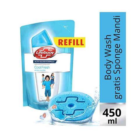 Sabun Cair Lifebuoy jual lifebuoy cool fresh refill sabun cair 450ml free