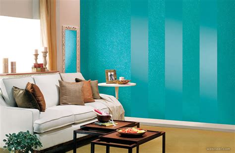 blue paint living room 50 beautiful wall painting ideas and designs for living