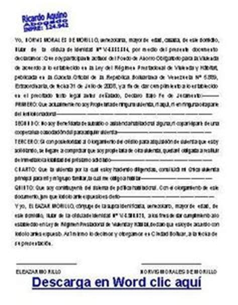 modelo actualizado de carta de no poseer vivienda http omaraquino2010sistemas blogspot com 2012 05 poder
