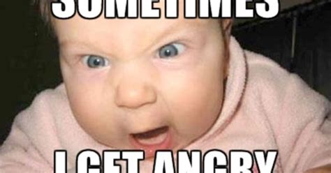 Meme Baby Products - funny baby incoming angry baby via meme generator products