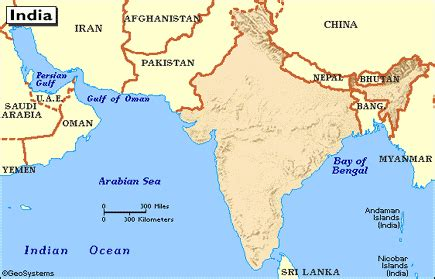 middle east map bodies of water india bodies of water asia central east