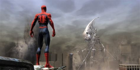 spider man web of shadows swinging spider man web of shadows swinging gameplay youtube