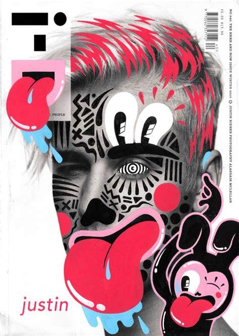 doodle name justine magazine cover doodle by strumpf hattie stewart