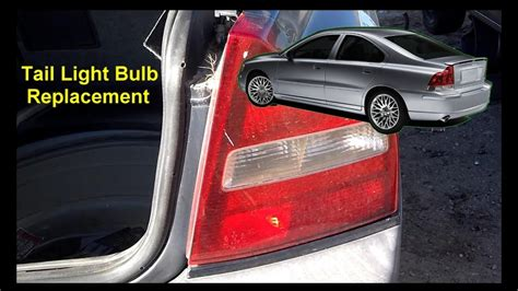 tail light bulb replacement volvo  auto repair series youtube